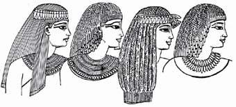 Men?s and women?s hairstyles of ancient Egypt